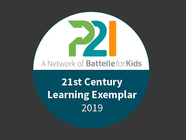 Congratulations to Kensington Elementary for earning the 21st Century Learning Exemplar distinction