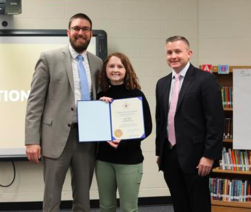 Kensington Elementary school counselor receives special award from U.S. Secret Service