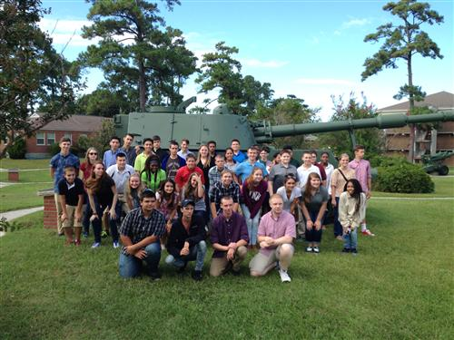 Cadets visit Camp LeJeune Sep 2016