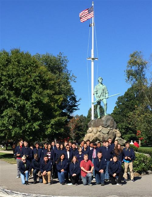 Rotc students tour Boston 2018