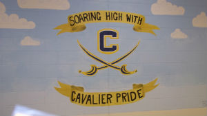 soaring high with cavalier pride