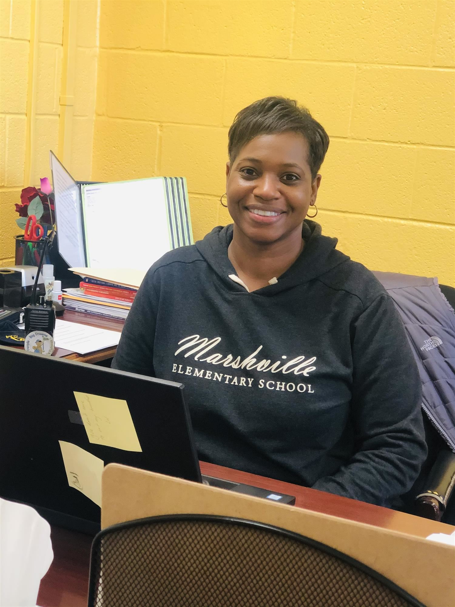 Principal Foster Recognized as Marshville Elementary's First African American Principal