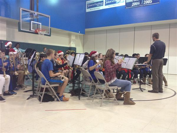 Music Teacher, Lisa Andrews Teams Up With Marvin Ridge Middle School To Inspire Rising 6th Graders To Join Band
