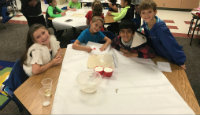 First Grade Learns to Cook