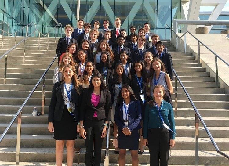 Thirty-six students traveled to the FBLA conference in Baltimore