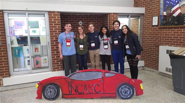 Students Attend 92nd annual North Carolina Association of Student Councils' State Leadership Conference