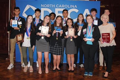 DECA has best showing ever at State Conference