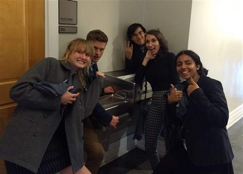 Students attend National Ethics Bowl