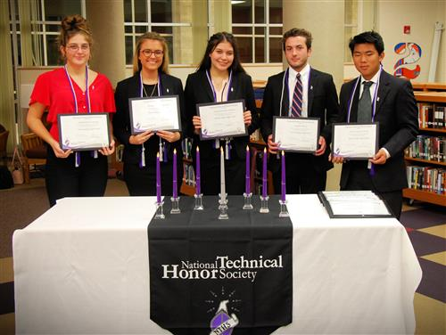 Students inducted into NTHS