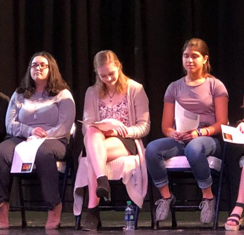 Students compete in Poetry Out Loud contest