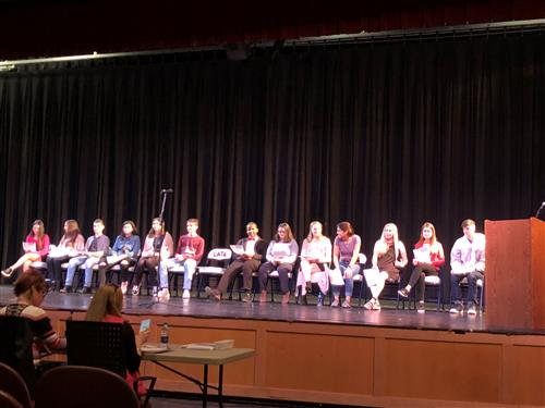 Students compete in Poetry Out Loud competition