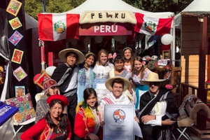 Students and staff participate in Charlotte Hola! festival