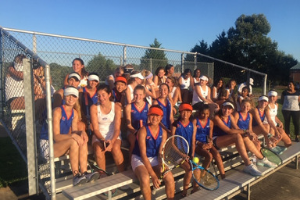 Girls Tennis Finishes Undefeated for the Season