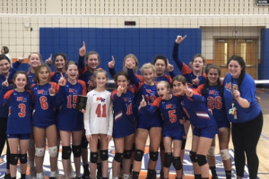 JV Volleyball - UCPS Champions