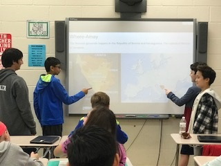 7th Graders Tackle Human and Civil Rights Unit
