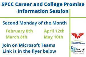 Career and College Promise Information Sessions