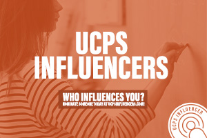 UCPS Influencers- Employee Recognition Program Graphic
