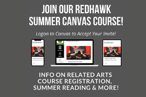 Stay Connected with Redhawk Summer Canvas Course