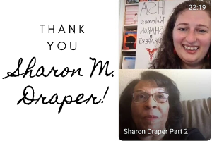 IG Live with Sharon Draper!