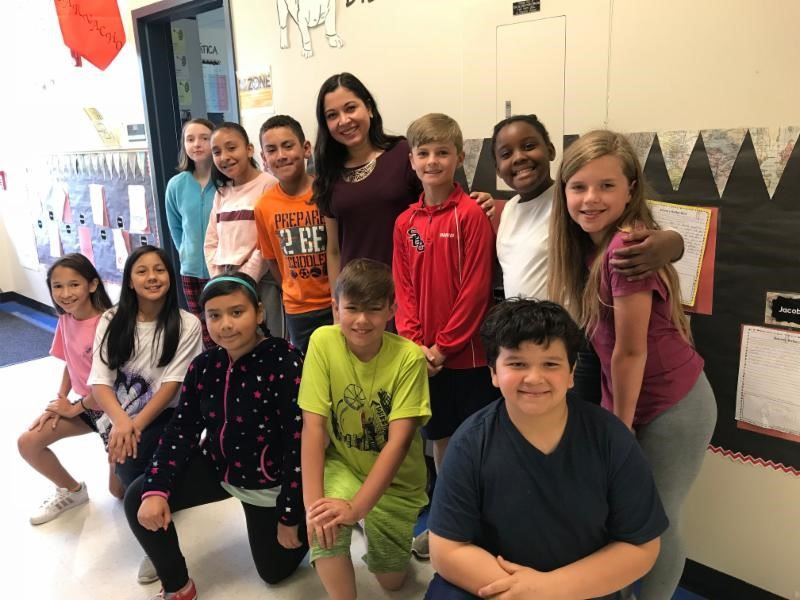 First group of dual language students prepare for middle school