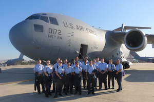 JROTC participates in training mission with the NC Air National Guard