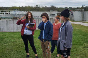 Students visit Lancaster Wastewater Treatment Plant