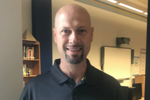 Meet Mr. Edge Atkins, Math and PE teacher