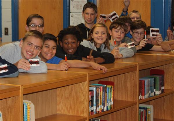 Hundreds of Parkwood Students Sign-up for a Union County Public Library Card