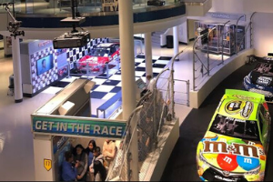 8th grade attends NASCAR Hall of Fame STEAM Day