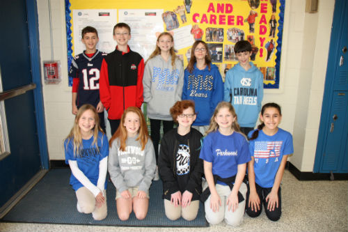 6th Graders Selected to Present at NCTIES