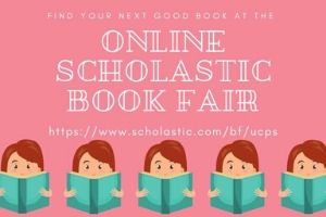 UCPS Virtual Scholastic Book Fair