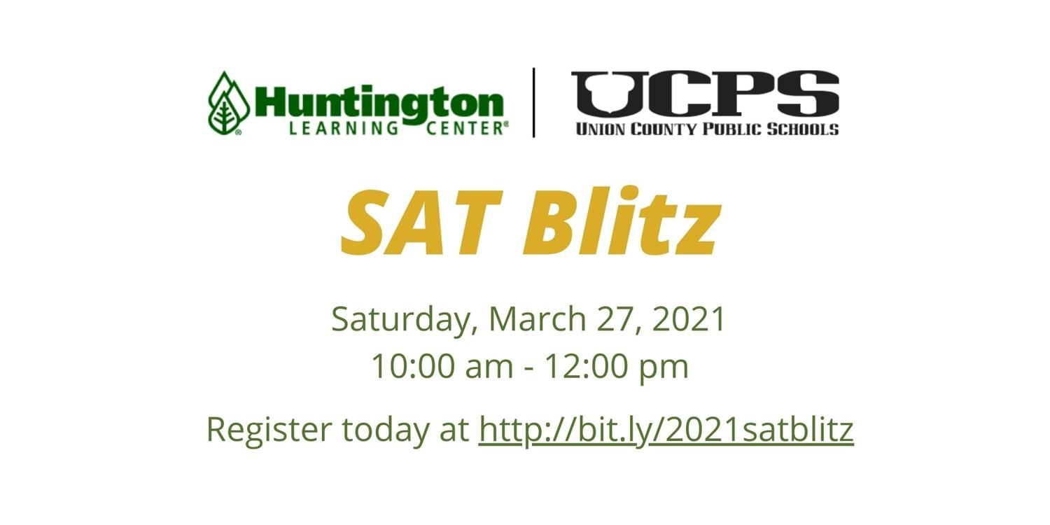 Register now for the SAT Blitz!
