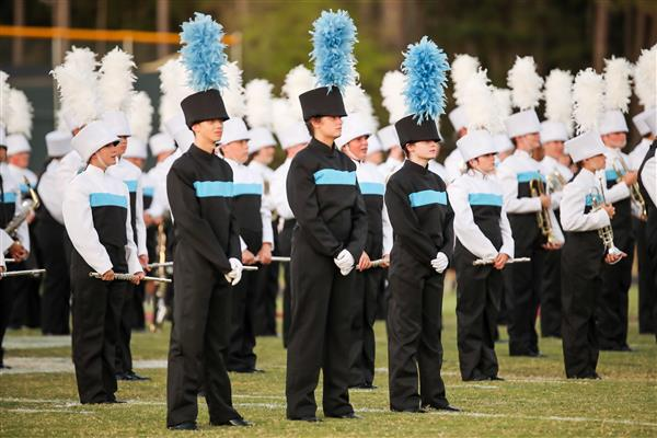Pride of Piedmont marching band photo.