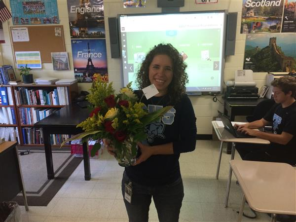 Tiphany Speck Named Piedmont's Teacher of the Year