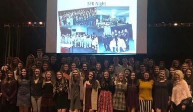 National Art Honor Society Inducts New Members