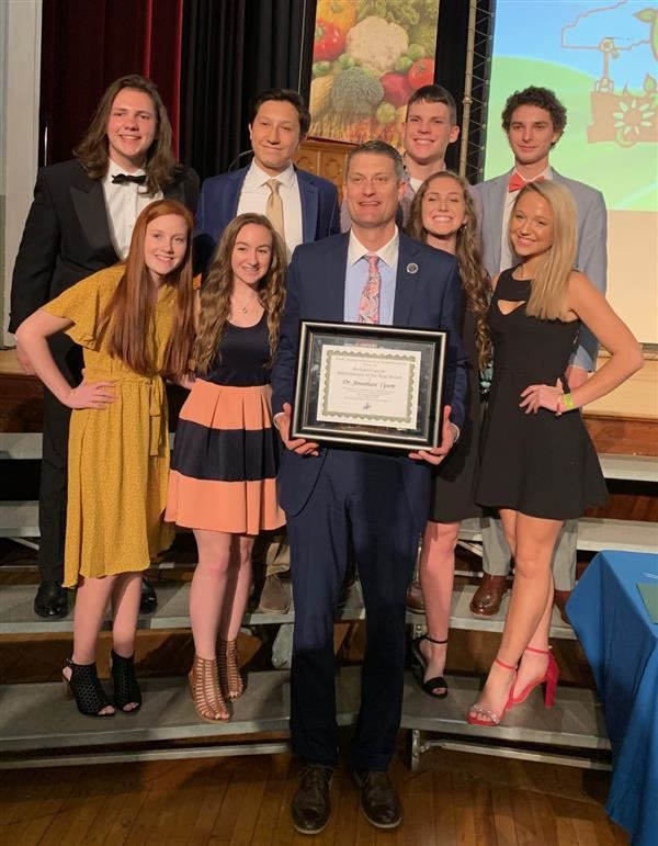 Student Government Receives Honors at NCASC State Convention