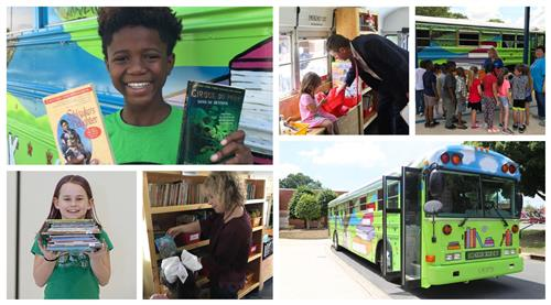 Book Bus Collage
