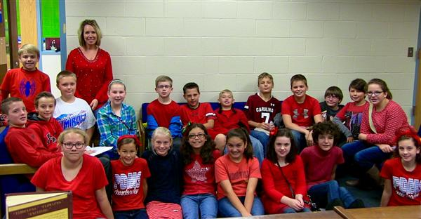 Piedmont Middle Celebrates Red Ribbon Week