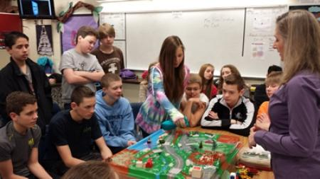 8th Graders Learn About Pollution