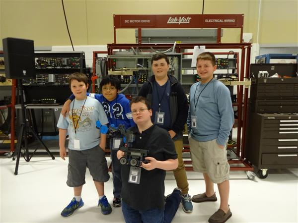 Robotics Club finishes in top four in UCPS/SPCC 2nd Annual Robotics Challenge