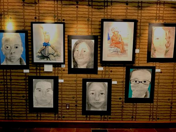Piedmont Art Work Featured at the Lois Edwards Memorial Library in Marshville, NC