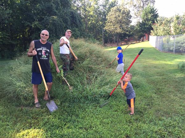 Piedmont Community Beautifies Campus