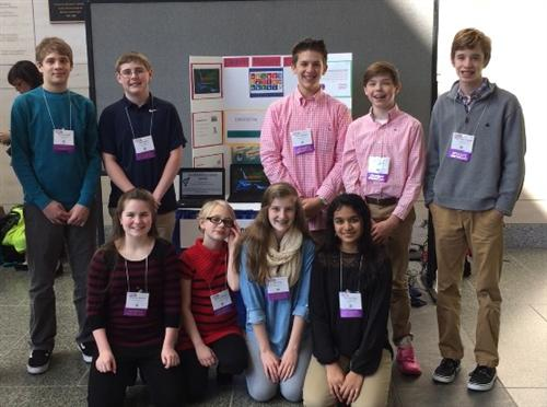 7th Grade Social Studies Students Present at NCTIES Conference