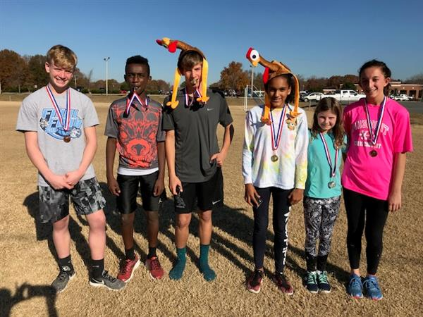 "Piedmont Middle holds 3rd annual ""Turkey Trot"" Mile Run"