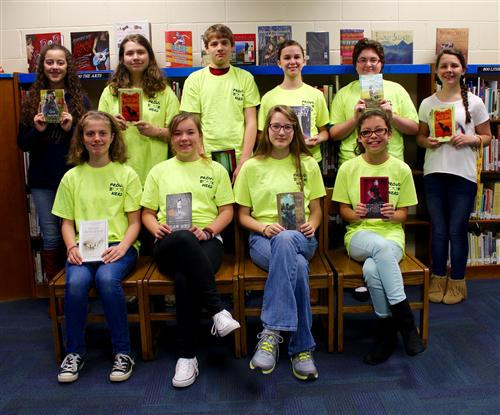 Battle of the Books Team Places 2nd in County
