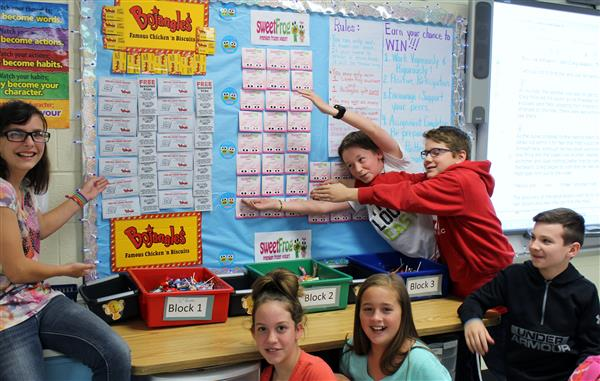 Sixth Graders Research Environmental Problems