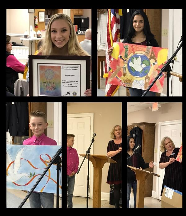 Lion's Club Celebrates Artists