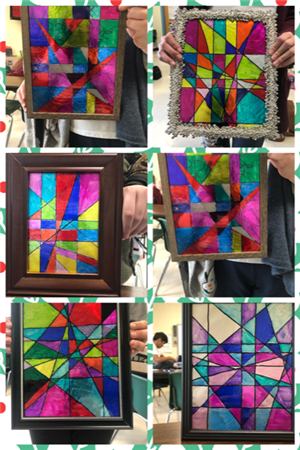 more stained glass pictures