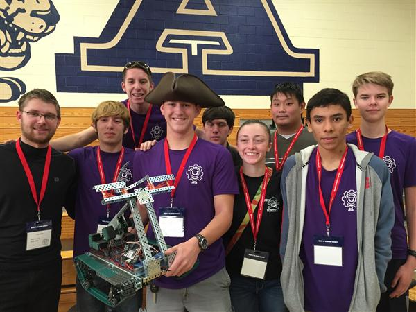 Robotics teams compete at Inaugural Fall Robotics Classic