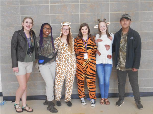Human vs. Wild Dress Up Day
